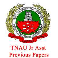 TNAU Jr Asst Previous Papers