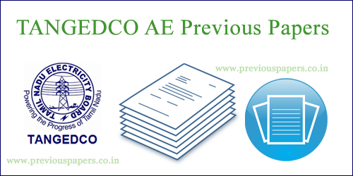 TNEB AE Model Question Papers PDF