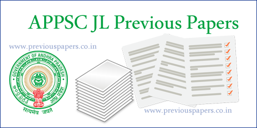 APPSC Jr Lecturer Question Papers
